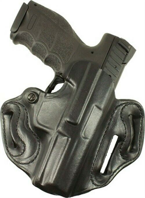 Desantis Speed Scabbard Belt Holster Sig P229R Right Black Leather 002BAC7Z0