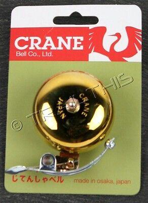 Osaka Chibikko Bicycle Micro Brass Bicycle Bell Gold or Black Made in Japan
