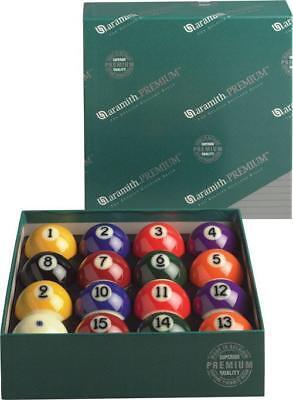 "Aramith Scarce as hen's teeth Pool Balls, Billiards Balls size 2 1/4"" FREE PRIORITY SHIPPING"