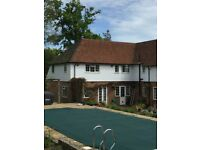 Two bedroom annex to rent in Uckfield area