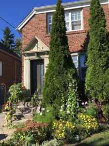 Cute cozy lower level apt, private side entrance and washroom