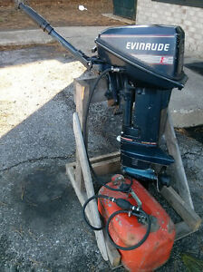 90 Evinrude 9.9hp short shaft two stroke outboard motor