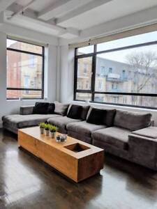 Bright Plateau/Mile-End Loft Rooftop Old Factory