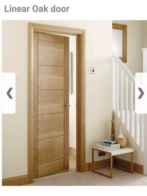 Howdens Linear Oak Doors In Christchurch Dorset Gumtree