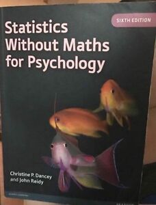 Statistics without Maths for Psychology Browns Plains Logan Area Preview