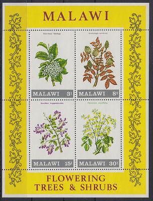 Malawi 1971 ** Bl.24 Blumen Sträucher Flowers Plants [st3303]