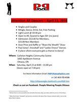 Attention All Dancers - Next Dance April 23