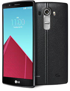 LG G4 with black leather back in SUPERB CONDITION