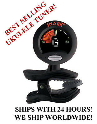 BLACK SNARK SN-6X CHROMATIC HEADSTOCK TUNER FOR UKULELE!