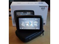 """TomTom Go 400 SatNav 4.3"""" Screen European UK & ROI Maps and with case and charger."""