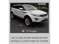 Stunning Range Rover evoque