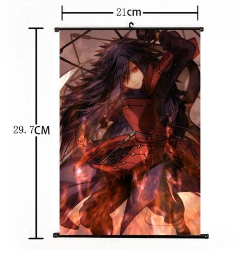 "Hot Japan Anime Naruto Madara Uchiha VB Home Decor Poster Wall Scroll 8""x12"" 01"