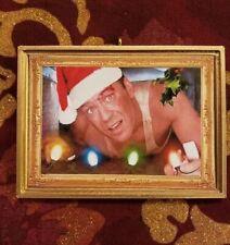 JOHN McCLANE Die Hard Christmas ORNAMENT!