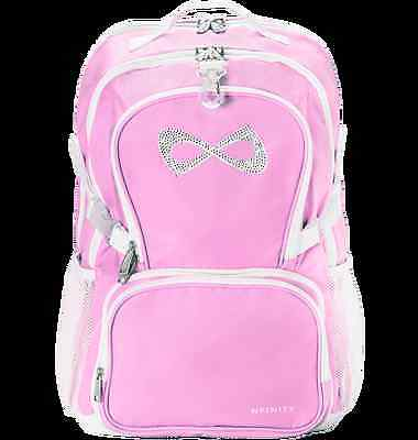 Nfinity Princess Backpack Pink with Rhinestone