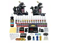 2 professional Tattoo Machines/gun with kit and colours!