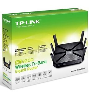 NEW TP-LINK AC3200 WIRELESS TRI-BAND GIGABIT ROUTER