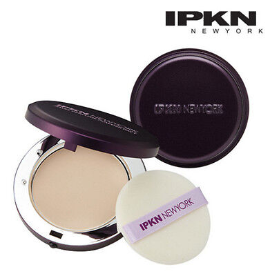 [IPKN]Jewel Perfume Powder Pact #21 Nude Beige Main Pact + Refill  IPKN New York