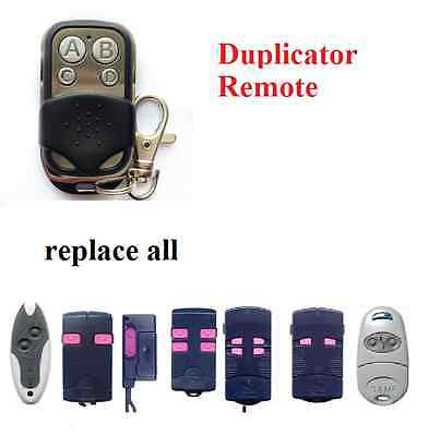 CAME TOP432S TOP434A TOP434M garage door remote control Duplicator 433.92mhz