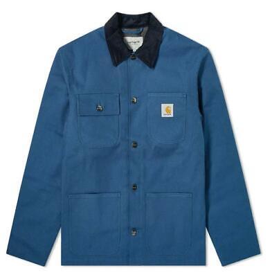 Chaqueta Carhartt Wip Michigan Abrigo Prussian Azul Talla XXL Nuevo Etiqueta