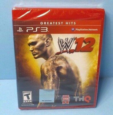 W'12 WWE 2012 Wrestling 2012 Playstation 3 PS3 BRAND NEW FACTORY SEALED comprar usado  Enviando para Brazil
