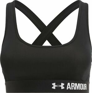 3f4faa258d Under armour ladies women s sports bra cross back black S small gym running  bnwt