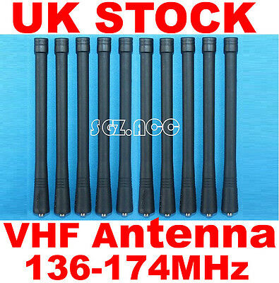 10x VHF Antenna Motorola Radio Walkie Talkie CT150 CT250 CP040 CP140 CP150