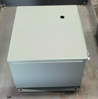 Steel Electrical Enclosure 12 Wide X 14 Tall X 8 Deep Type 1 Indoor