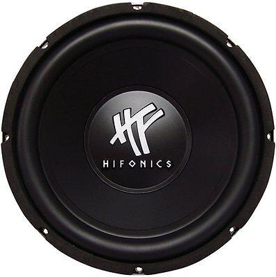 New Hifonics Hfx12d4 12  800 Watt 4 Ohm Dvc Car Audio Subwoofer Power Bass Sub