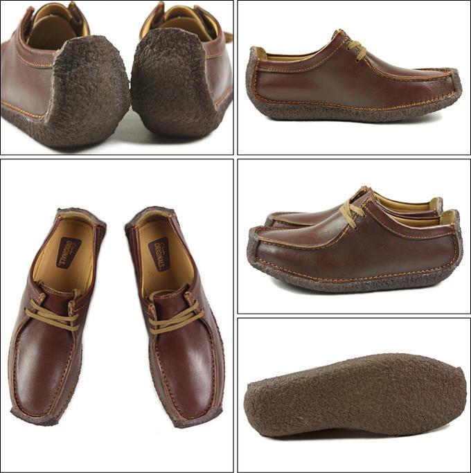 Clarks Originals Men ** X Natalie Chestnut lea Shoes  **  UK 6,7,,8,9,10,11 G