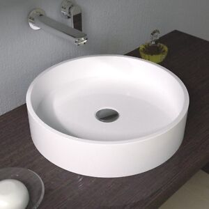 ... -Solid-Surface-Stone-Modern-Mounted-Bathroom-Sink-17-x-17-CW-113