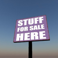 Tons of stuff for sale here