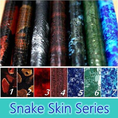 19x79 Snake Skin Series Hydrographic Film Aqua Print Water Transfer Kryptek Us