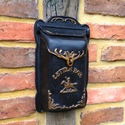 Briefkasten Letterbox -schön verziert, Wandbriefkasten wie antik