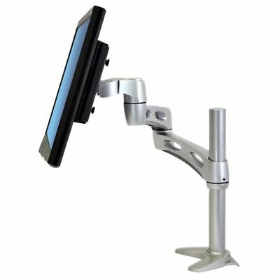 Ergotron 45-235-194 Neo-Flex Extend LCD VESA Arm Monitor Desk Mount Clamp Bolt Extend Lcd Arm