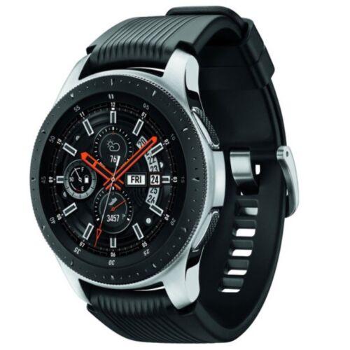 Samsung Galaxy Watch SM-R800 46mm Silver (Bluetooth) Smartwatch - International