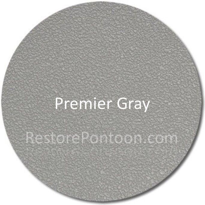 "MariDeck 80 mil vinyl flooring - 8'6"" x 30' - Premier Gray"