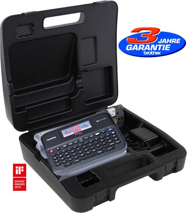 Beschriftungsgerät Brother PT-D600VP P-Touch USB Beschriftungssytem 24mm Koffer