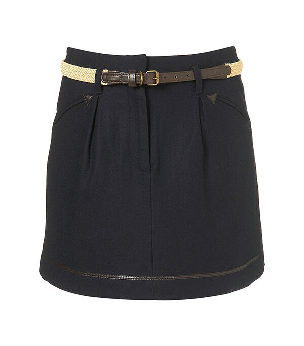 TopShop Pleated Miniskirt