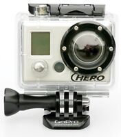 GoPro with some mounts. 1080HD