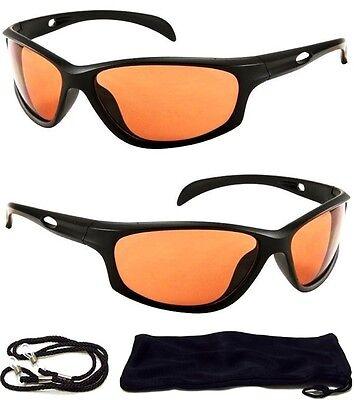 HD Driving Aviator SunGlasses Golf Vision Blue Blocker High Definition Mens NEW