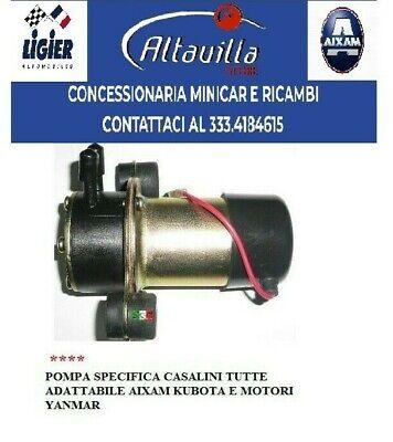 Bomba Diesel Electrica Ajustable A Casalini Mitsubishi