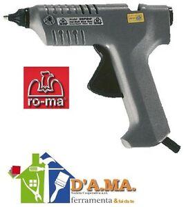 Pistola per colla a caldo elettrica termocolla ro ma grip for Pistola a spruzzo elettrica professionale
