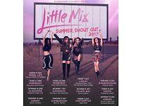 Little mix 2 block 102 Row Q seats 3&4 Manchestet arena 21st Nov 07393471927