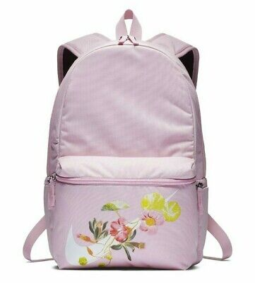 NIKE HERITAGE WOMEN GRAPHIC BACKPACK - FLORAL ARCTIC PINK BA6000-676 - 26 LITRES