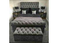 ✨ Luxury Sleigh Beds