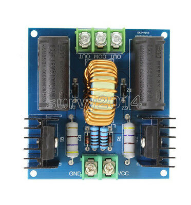 12v-30v Dc Zvs Tesla Coil Marx Generator High Voltage Power Supply 20a 1000w