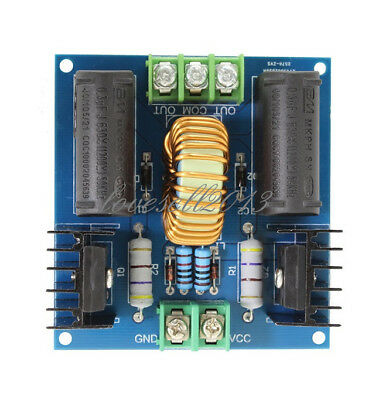 Dc 12v-30v Zvs Tesla Coil Marx Generator High Voltage Power Supply 20a 1000w Lo