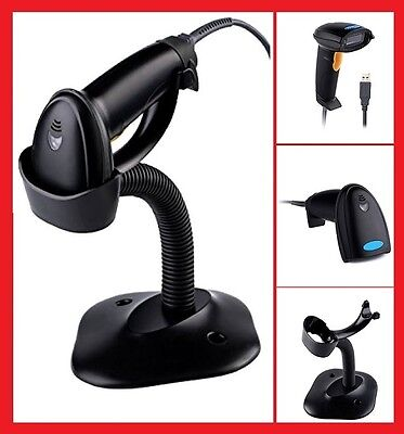 Point Of Sale Pos Automatic Usb Laser Scan Barcode Scanner Bar Code Reader Gun