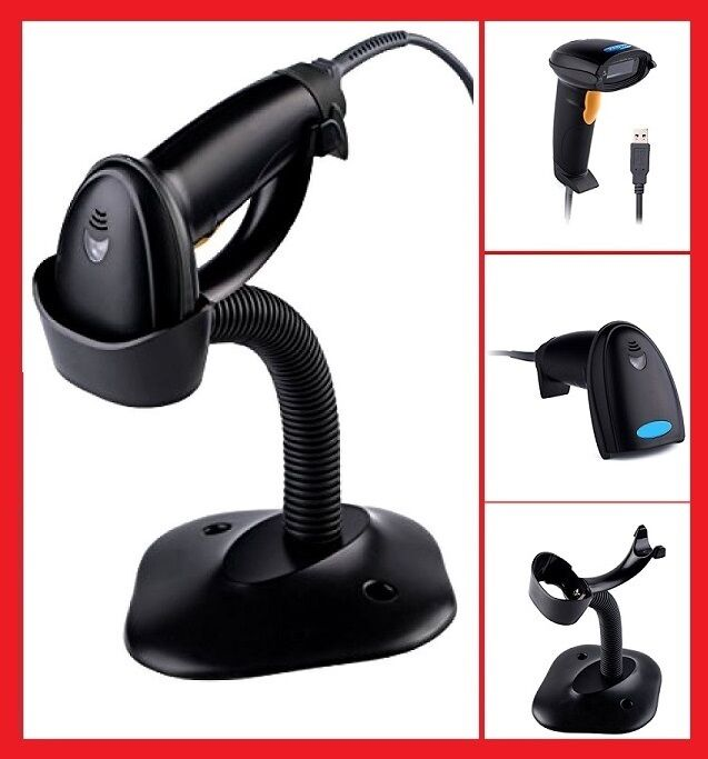 Point of Sale POS: Automatic USB Laser Scan Barcode Scanner