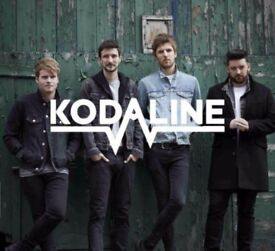 2 x Tickets for Kodaline Concert @ Brixton on 12th Dec. '17